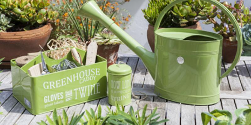 Amazing Gardening Gifts For Adults. Green Enamels